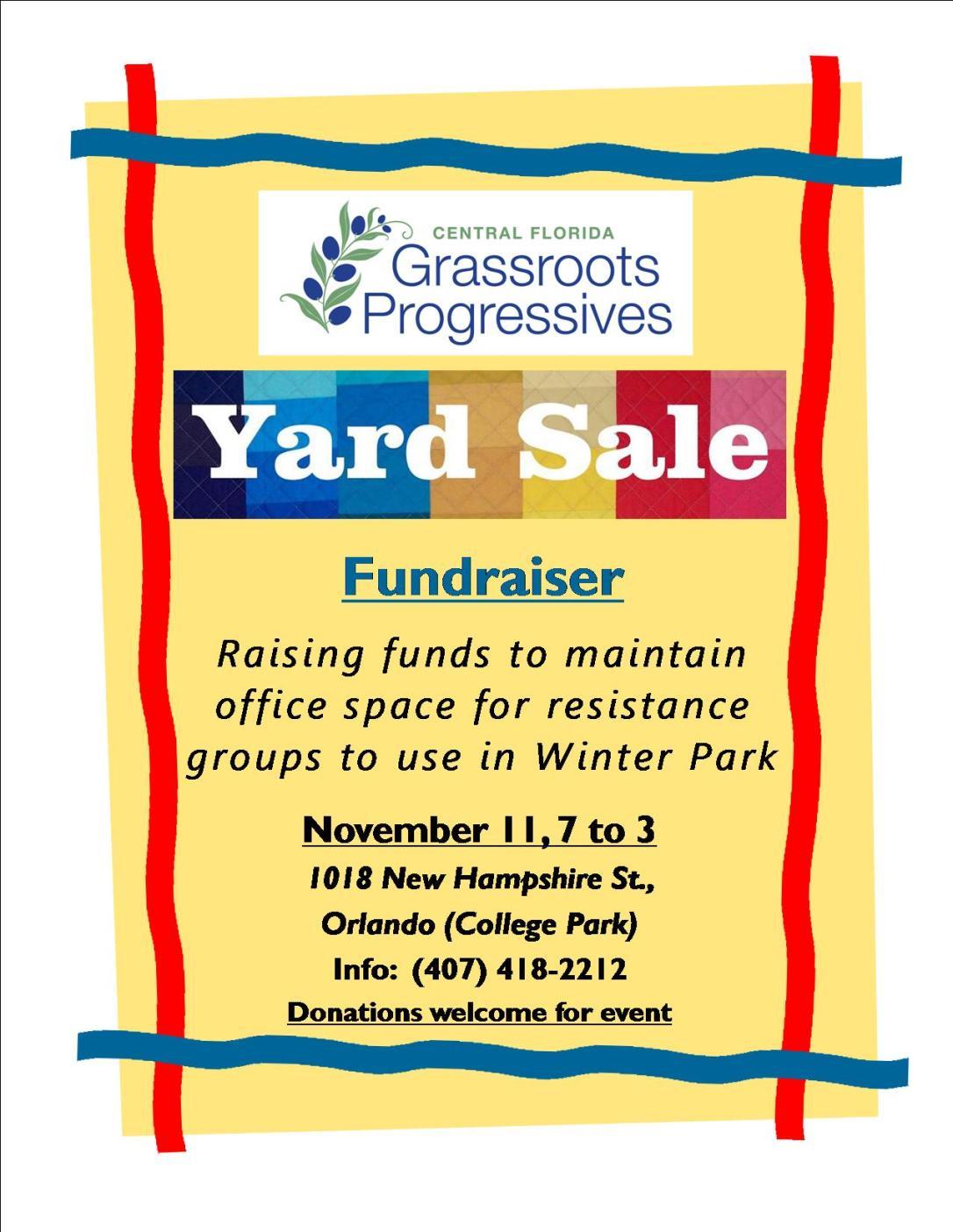 yard sale 1